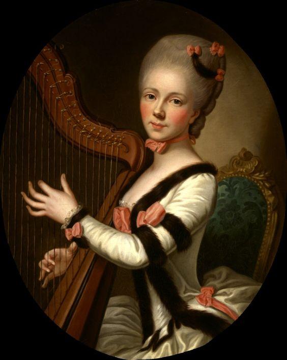 1768-1771 Per Krafft The Elder - Mademoiselle Desroches s. Fromageau, Madeleine-Nicole Julie: