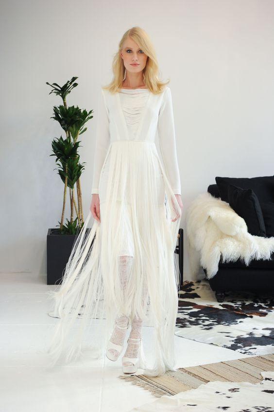 Houghton Bridal Fall 2016 Fashion Show