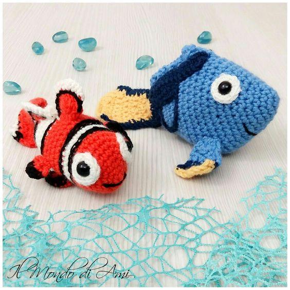 Amigurumi, Crochet and Finding nemo on Pinterest