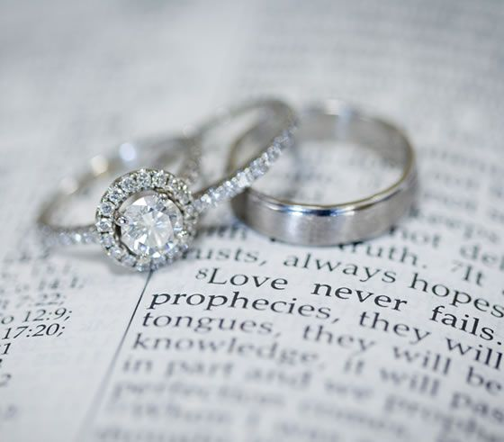 Gorgeous rings on a favorite bible verse Steven Wallace Photo