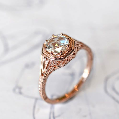 Womens Engagement Rings and Bands rings Pinterest Vintage