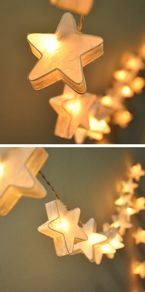 Star String Lights: