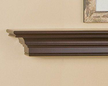 Stanford mantel shelf fireplace mantel shelves a sleek and contemporary design element - Beneficial contemporary fireplace mantel shelves ...