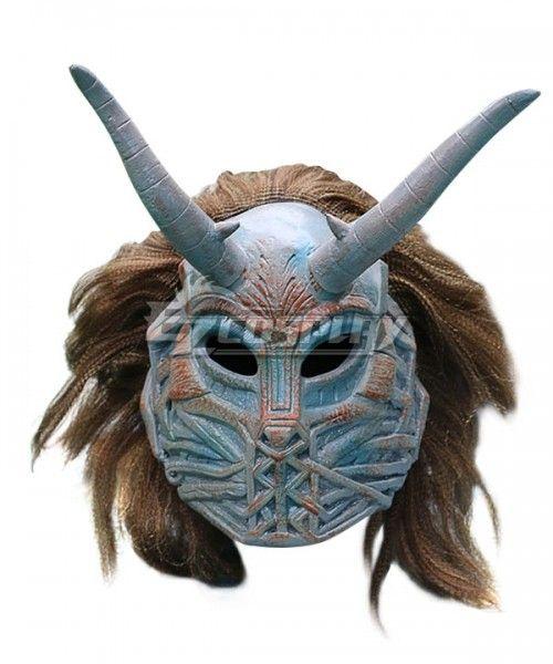 Erik Killmonger Mask Cosplay 2018 Black Panther Mask With Wig Halloween Mask New