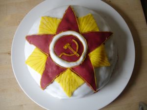 Soviet Order of the Patriotic War Class I Cake