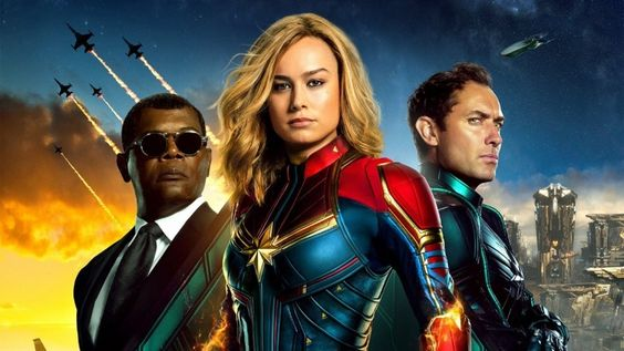 Captain Marvel hits theaters today.