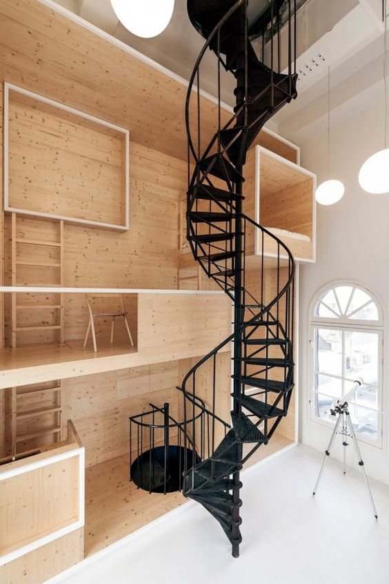 Historic Tower In Amsterdams Iconic Dam Square Converted Into Artists Residence - http://interior-design.info/historic-tower-in-amsterdams-iconic-dam-square-converted-into-artists-residence/
