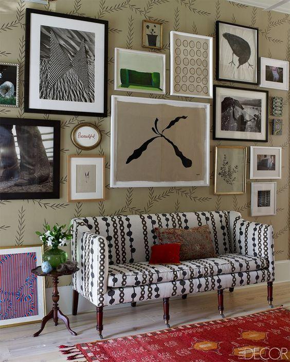 Mezclar y elegante: el vibrante casa Georgia gira-A Inicio diseñadora textil!