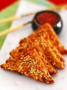 Sesame Prawns Toast Recipe