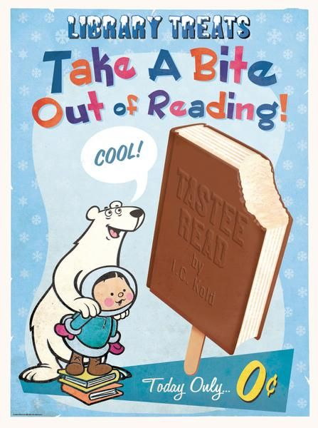 Posters encouraging kids to read - 1