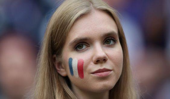En el último partido de la Copa del Mundo, también se hicieron presentes las señoritas lindas