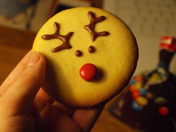 DEARTALLY: DIY: Reindeer Cookies