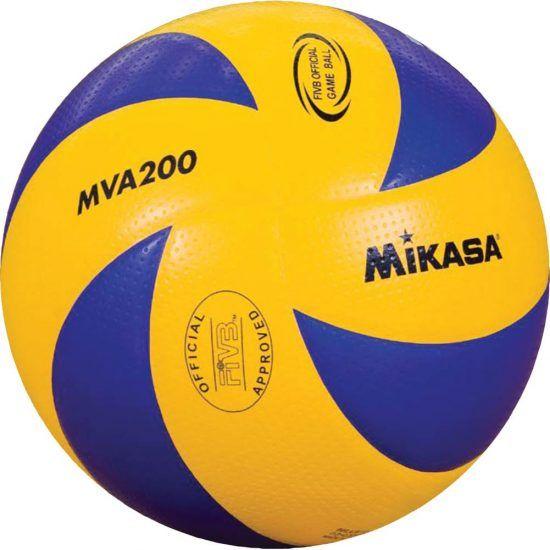 5 blau//gelb Mikasa Volleyball V200W-/ÖVV