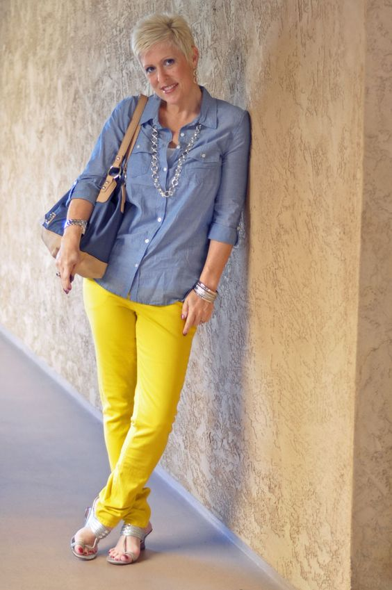 Colored Pants :: Yellow