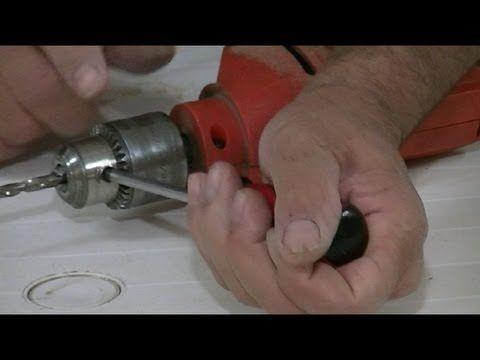 Como ajustar un taladro sin la llave