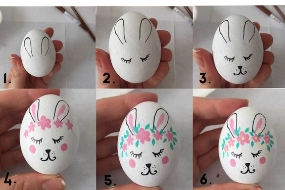 Bunny Easter Egg Kindness Confetti
