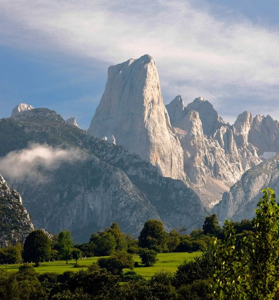 Hiking in Spain's Picos de Europa Mountains. I think I'll add this to my list of places I'd like to visit.