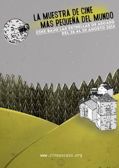 Cartel 3º Muestra Cine Ascaso 2014