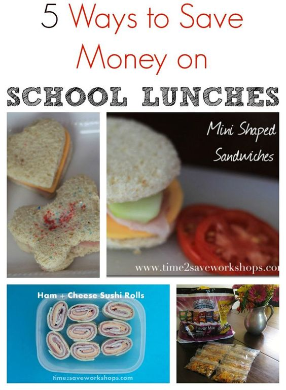 5 Ways to Save on School Lunches.  Here are 5 great tips to help you load the lunchbox and save money at the same time.