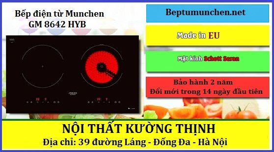 Có nên mua bếp điện từ Munchen GM 8642 HYB không