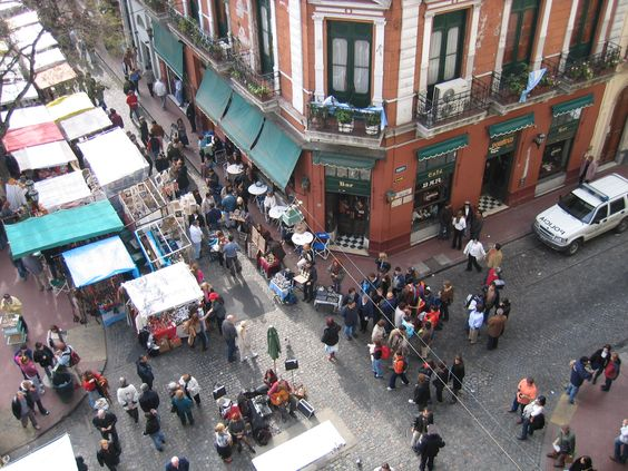 San Telmo Antiques Market, Buenos Aires, Argentina