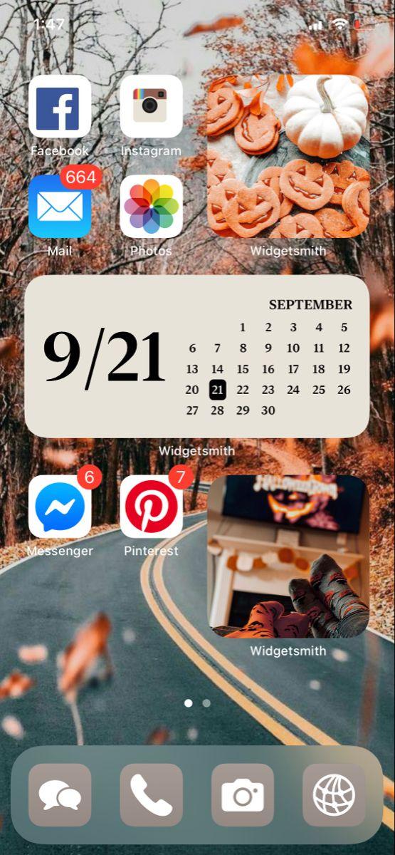 Ios 14 Homescreen Ideas Homescreen Cute Home Screens Iphone App Layout
