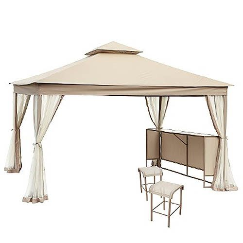 LAUREL PARK 10 x 12 Replacement Canopy and Netting Set