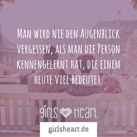 mehr sprüche auf: www.girlsheart.de #partner #liebe #erinnerung