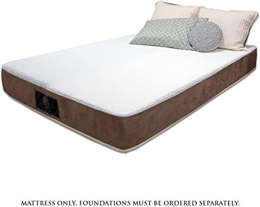 Adjustable Firmness Ojai 2 In 1 Quot Bed In A Box 8in Mattress Height Zip On Stretch Cover Standard Box Bed Mattress Manufacturers Premium Mattress