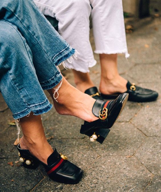 Gucci loafers are the thing to own this season. Literally drooling...