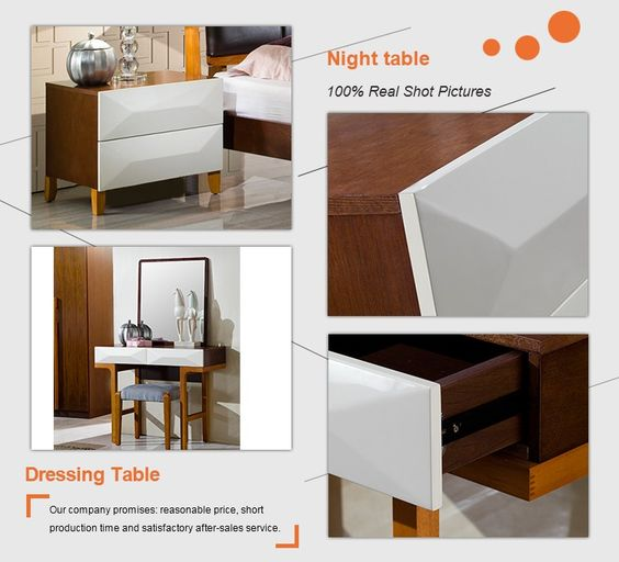 Cama moderno con la cabecera de cuero muebles modernos bed - Cabeceras de cama de madera ...