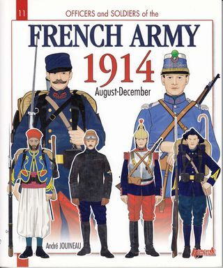 World War I French uniform- Consisted of navy blue coat and bright