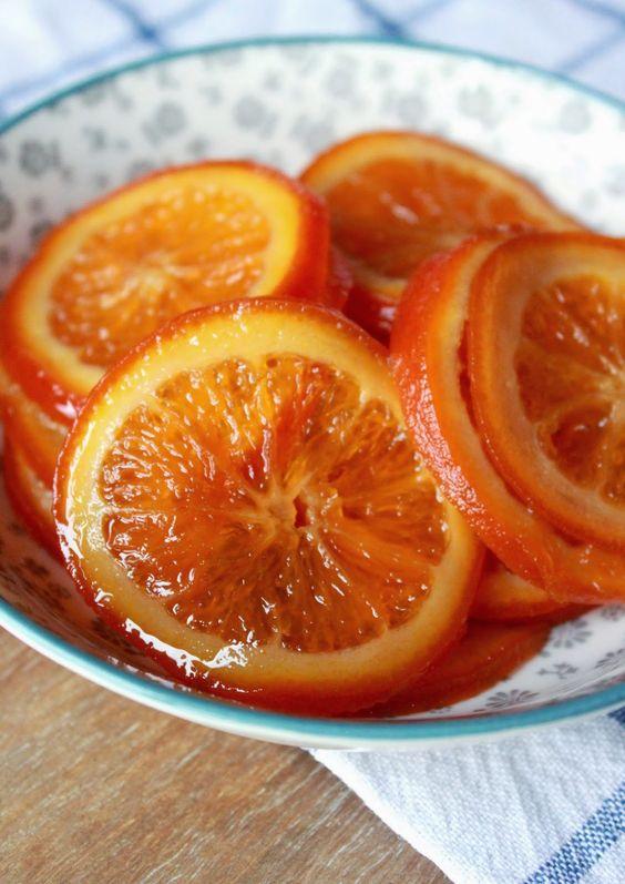 Hacer naranja confitada