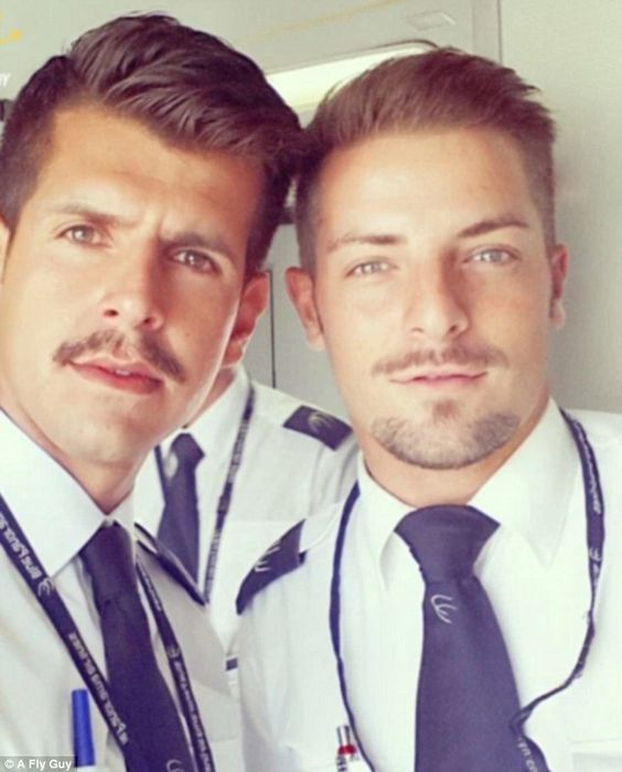 Italian flight attendants from Blue Panorama Airlines