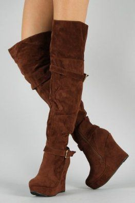 49.99 Shoehorne Charli09 - Womens Amazing Chocolate Brown Suede ...