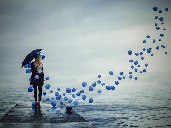 Palloncini blu