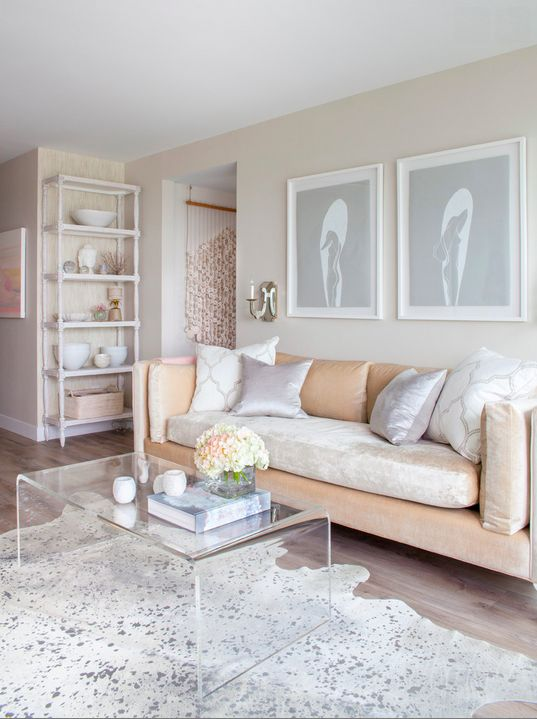 Gorgeous, neutral living room from Peridot Decorative Homewear.: