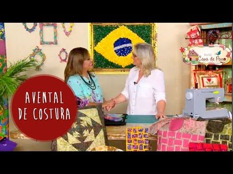 Avental de Costura - Tutorial Patchwork - YouTube