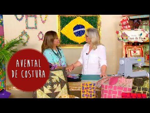 Avental de Costura - Tutorial Patchwork - YouTube