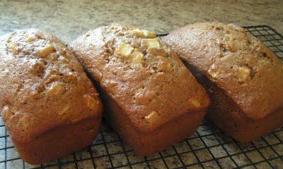 favorite of ours- Double Apple Walnut Bread. I originally ...