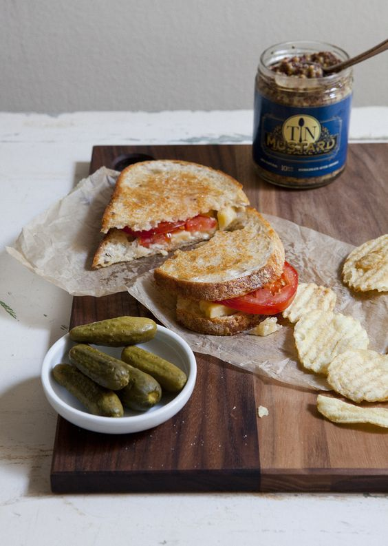 grilled cheese & pickles! | Sandwiched Between Bread | Pinterest ...