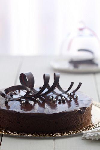 Pastís de xocolata i praliné d'avellana