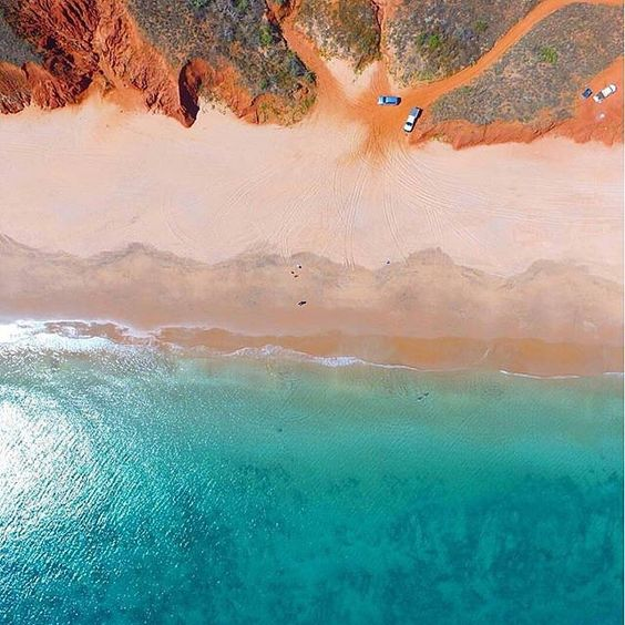 Tag someone you know who deserves a beach day!  Beautiful aerial shot from the Kimberley region in Australia by @lydiaplachy via @thekimberleyaustralia. Thanks for tagging #travelstoke!