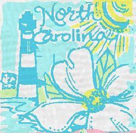 North Carolina's Lilly Print