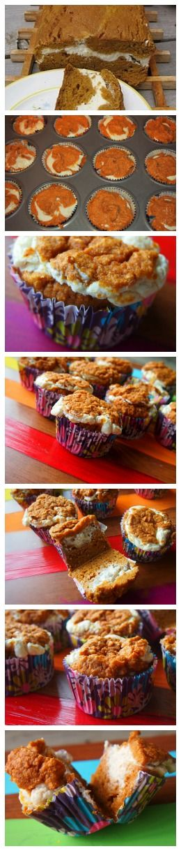500 Calorie Pumpkin Bread Turned Into 75 Calorie Pumpkin Cupcakes From Undressed Skeleton! (Ingredient Swaps)