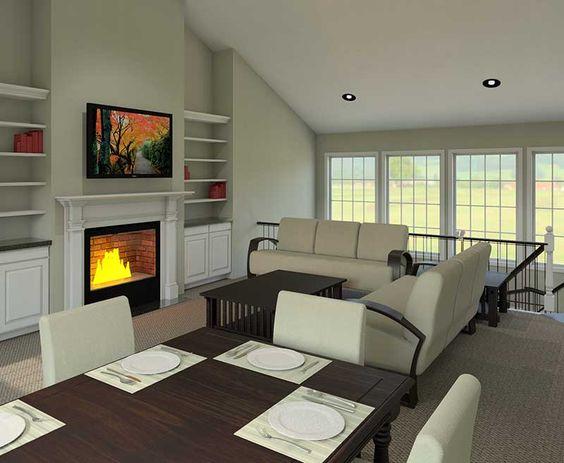 Ashbriar atrium ranch home traditional home and house plans for Atrium ranch house plans