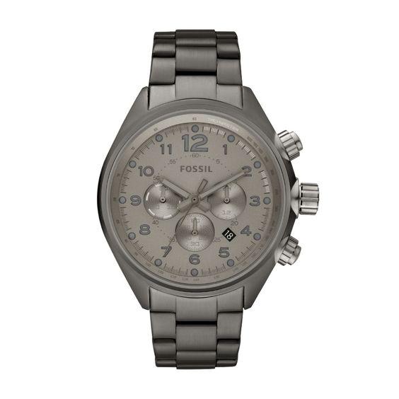 Flight Stainless Steel Watch - Smoke CH2802 | FOSSIL®