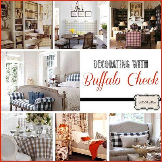 Textile Spotlight: Queen Charlotte's Check {aka Buffalo
