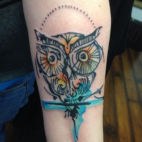 Fun Little Owl From Yesterday Ambitiontattoo Ambitiontattoo Ambition Owl Tattoo Watercolor Knoxville K In 2020 Tattoos Watercolor Owl Tattoos Watercolor Tattoo