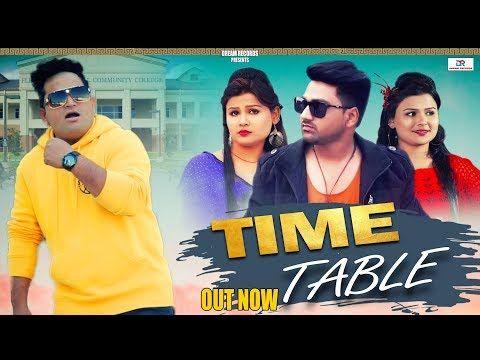 Raju Punjabi Time Table New Haryanvi Songs Haryanavi 2019 Tarun Pal Anjali Daksh Andy Dahiya Dj Songs New Dj Song Dancing Baby